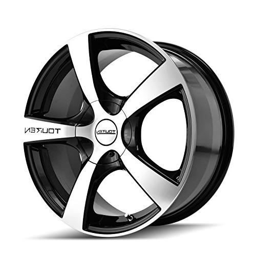 tr9 3190 black wheel with machined face