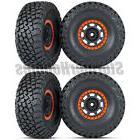 Traxxas Unlimited Desert Racer KR3 Tires on Black/Orange Rac