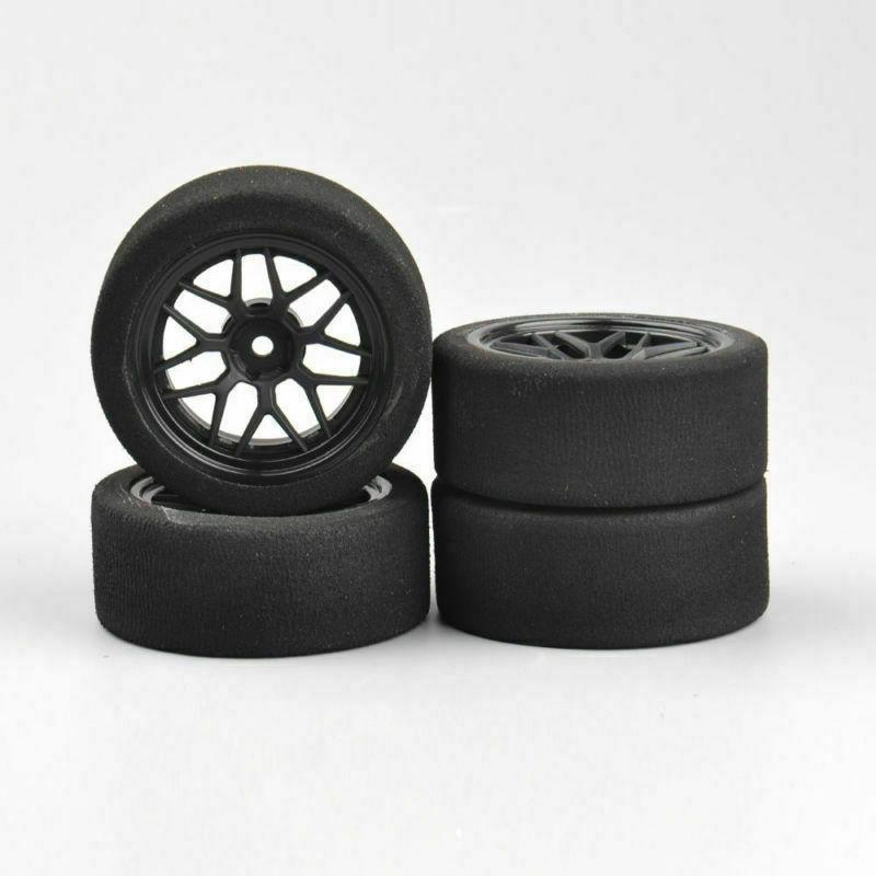 US Foam Tires&Wheels Rims Hex HSP 1/10 on-Road Racing