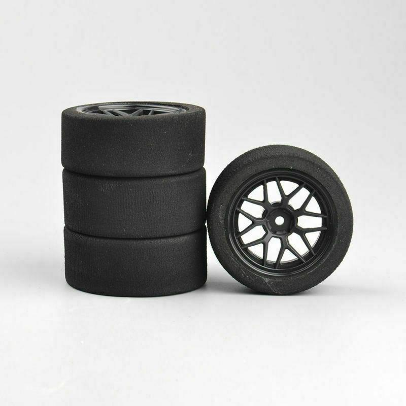 US Foam Tires&Wheels Rims 12mm HSP on-Road RC Racing Car
