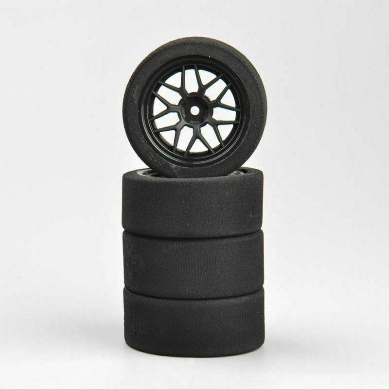 US 4Pcs Foam Rims 12mm For HSP Racing Car 23002