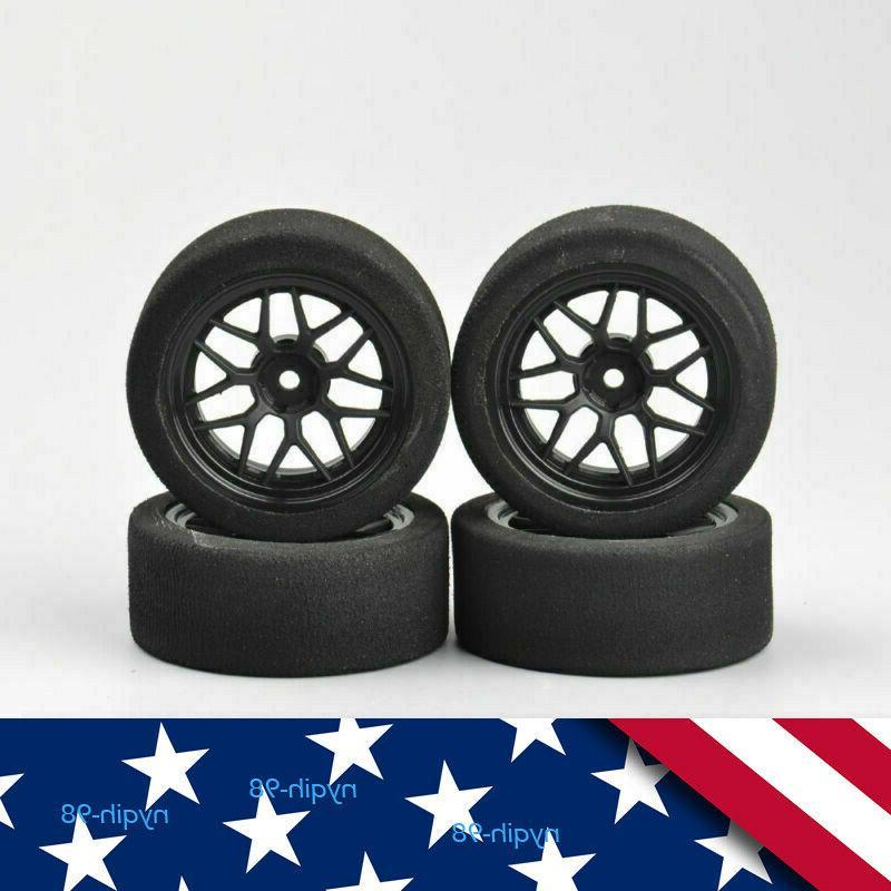 us 4pcs foam tires and wheels rims