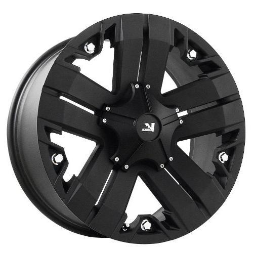 v rock recon matte black wheel