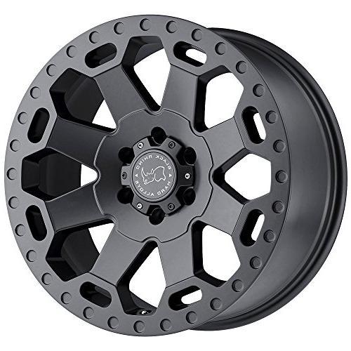 1890war128180g25 warlord grey wheel 18x9 8x180mm 12mm