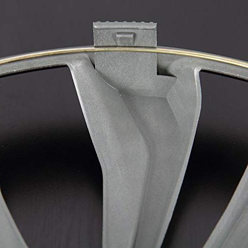 "Pilot Automotive Black/Silver 17 17"" Spyder Performance Wheel"