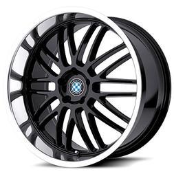 Beyern Mesh Gloss Black Wheel with Machined Lip