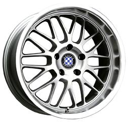Beyern Mesh Silver Machined Wheel