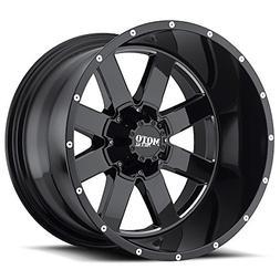 Moto Metal MO962 20x12 Chrome Black Wheel / Rim 5x5 & 5x135