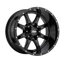 MOTO METAL MO970 GLOSS BLACK W/MACHINED FACE MO970 18x10 6x1