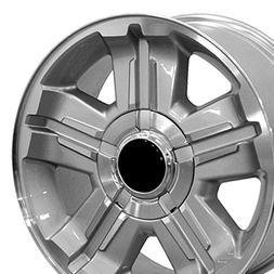 OE Wheels 18 Inch Fits Chevy Silverado Tahoe GMC Sierra Yuko