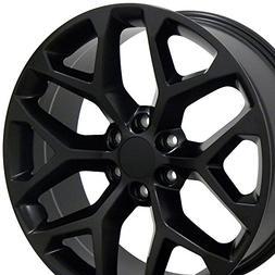 OE Wheels 20 Inch Fits Chevy Silverado Tahoe GMC Sierra Yuko