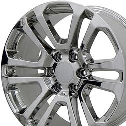 OE Wheels 22 Inch Fits Chevy Silverado Tahoe GMC Sierra Yuko