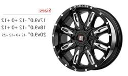 Ballistic Off-Road 953 Wheel with Painted Finish
