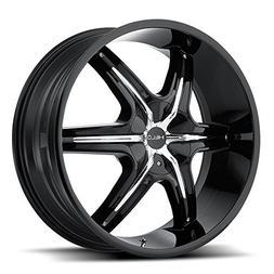 One Helo Gloss Black w/ Accents HE891 Wheel/Rim - 22x9 - Bla