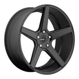 One KMC Satin Black KM685 District Wheel/Rim - 19x8.5 - 5x11