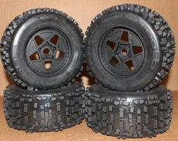 Arrma OUTCAST 6s BLX TIRES & Wheels tyres rims DBoots Backfl