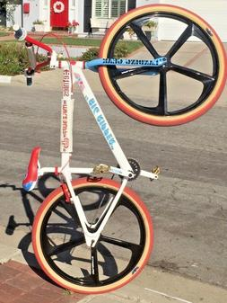 "29"" BMX 5-Spoke Mag Rims Bicycle Sealed Hub Wheel Sets W/ Fr"