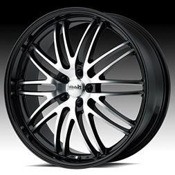 Advanti Racing Prodigo 20x8.5 Black Wheel / Rim 5x120 with a