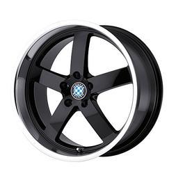Beyern Rapp 20 Black Wheel / Rim 5x120 with a 20mm Offset an