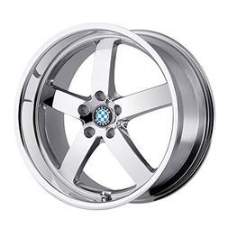 Beyern Rapp 20 Chrome Wheel / Rim 5x120 with a 30mm Offset a