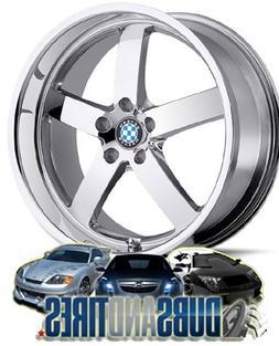Beyern Rapp 20 Chrome Wheel / Rim 5x120 with a 20mm Offset a