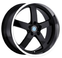 Beyern Rapp Gloss Black Wheel with Machined Lip