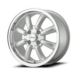 Konig Rewind Silver Wheel with Machined Lip