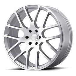BLACK RHINO Rim Kunene 24X10 5x150 Offset 30 Silver w/Mirror