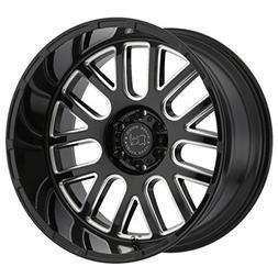 BLACK RHINO Rim Pismo 17X9.5 6x135 Offset 6 Gloss Black/Mill