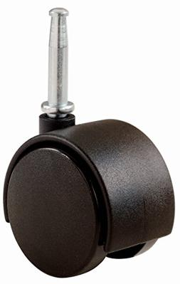 RevoSmooth Premium Rubber Office Chair Caster Replacement, S