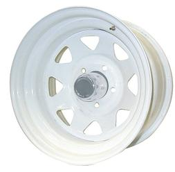 series 82 wheel with gloss white finish