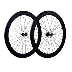 Fixie Wheels Set Fixed Gear Flip-Flop Rear Wheels 45mm with