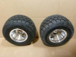 SET OF 2 Go Kart Wheels Go Kart Rain Tires Rim & Tire Durabl