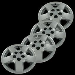 "Silver 16"" Hub Cap Wheel Covers for Chevrolet HHR/Malibu - S"