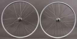 "WTB SX17 Rims 26"" Silver Mountain Bike MTB Wheelset 6B 32h C"