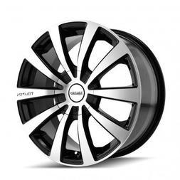 Touren TR3 17 Black Wheel / Rim 4x100 & 4x4.5 with a 40mm Of
