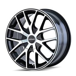 Touren TR60 3260 Black Wheel with Machined Face