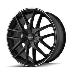 Touren TR60 3260 Matte Black Wheel with Machined Ring