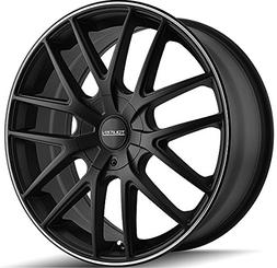 Touren TR60 17 Black Wheel / Rim 5x100 & 5x4.5 with a 42mm O