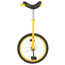 Tour De France Yellow 20 Inch Unicycle With Alloy Rim