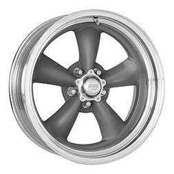 American Racing VN215 Classic Torq Thrust II 1 Pc Mag Gray W