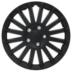 "Pilot Automotive WH521-15C-B All Black 15"" Indy Wheel Cover,"