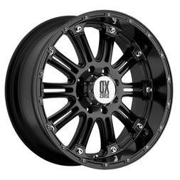 XD-Series Hoss XD795 Gloss Black Wheel